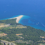 Zlatni Rat, the view from Vidova Gora peak.