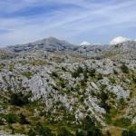 Biokovo, in background is Sveti Jure peak