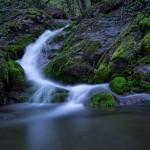 The waterfall near Bistranska Poljanica