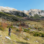 The trail near Razor Hut