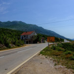 The crossroad, turn left for Prosenjak