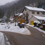 The crossroad in Smerovišće