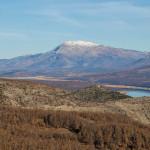 The view on Kninska Dinara mountain from Svilaja