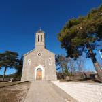 The church Sveti Vid near Zelovo village