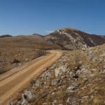 The unpaved road near Dabarska Kosa