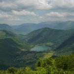 The lake Boračko Jezero