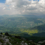 The view from Borašnica peak.