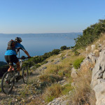 The singletrack from Smokovje to Bol