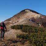 The ridge of Obruč