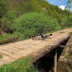The bridge over Globornica stream