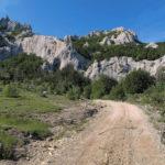The carriageway section near Kukovi cliffs