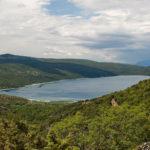 The lake Vransko Jezero