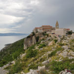 Lubenice village on The Island of Cres