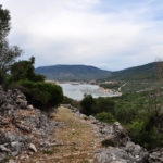 The carriageway section from Lubenice village to Cres town