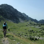 The final descent section to Tisovica valley