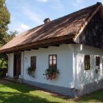 The traditional house in outdoor museum in Kumrovec.