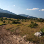 The carriageway section from AdriaSki Hotel to Donji Malovan village