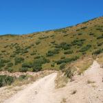 The junction below Nadkrstac peak