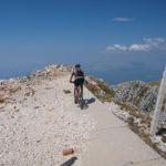At Brasina peak