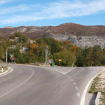 The crossroad at the highway Herceg Novi - Trebinje