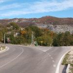 The crossroad at the highway Herceg Novi - Trebinje
