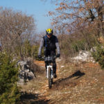 The singletrack near Dragozetići village