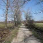 The carriageway from Smiljan to Trnovac