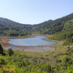 Blatina, the pond near Sobra on the Island of Mljet