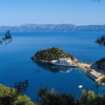 Sobra port on The Island of Mljet