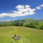 The descent to Krbavsko Polje field