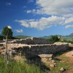 The ruins of Sv Jakov chapel in Udbina