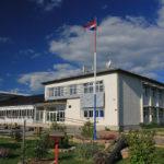 The school in Udbina
