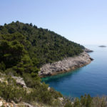 Pištet bay on The Island of Mljet