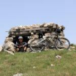 The shelter on Velika Golija mountain used during the last war in Bosnia and Herzegovina.