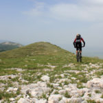 The ride at the ridge of Velika Golija mountain