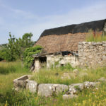 The ruined house in Crnačka Ladina