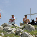 I met the hikers at Velika Vlajina peak