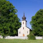 The church in Smoljana village on Grmeč mountain