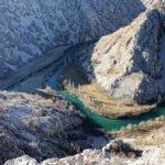 Zrmanja (left) and Krupa (right) rivers