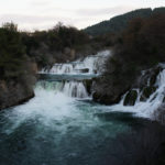 The waterfall Skradinski Buk in National Park Krka