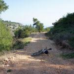 The section between Velika Prapatna and Humac