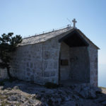 Sv Nikola chapel is situated at the peak of The Island of Hvar