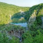 The waterfalls of Plitvice Lakes in National Park Plitvice