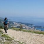 The ride towards Miletin bor