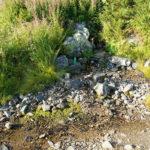 The spring of water on Korab mountain