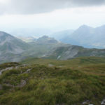 The view from Golem Korab (Maja e Korabit) to Macedonia