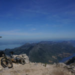 At Sveti Ilija peak. This is the highest elevation point of Pelješac peninsula