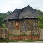 The old house in Nucsoara village