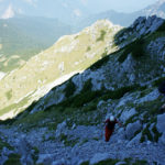 The hiking section from Prijevor saddle to Maglić peak