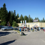 Gondola lift station in Borovets at elevation of 1350m